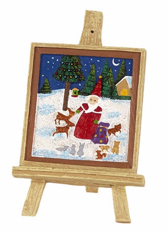 Mini Christmas Easel