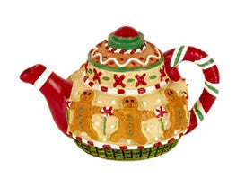 Mini Christmas Teapot