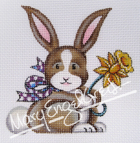 Needlepoint Canvas: Cutie Bunny