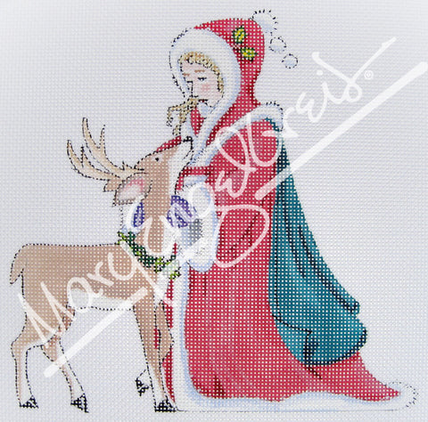 Needlepoint Canvas: Magical Yule
