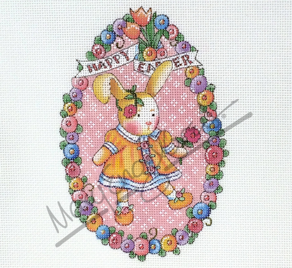 Needlepoint Canvas: Bunny Egg