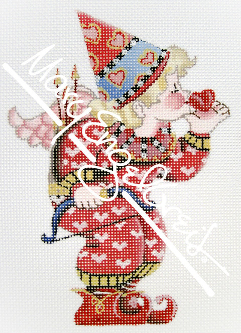 Needlepoint Canvas: Cupid