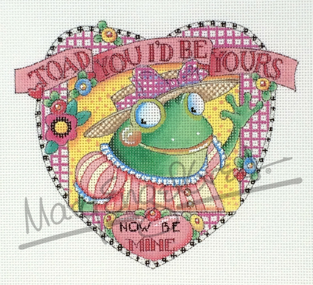 Needlepoint Canvas: Toad You