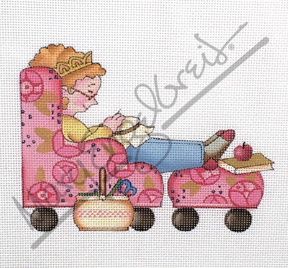Needlepoint Canvas: Comfy Stitching