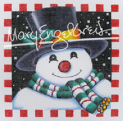 Needlepoint Canvas: Snowman