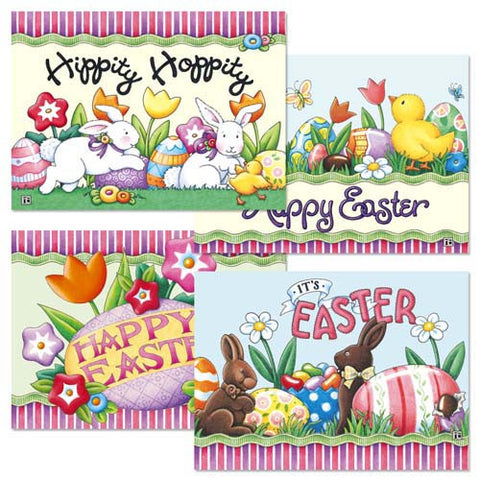 Easter Greeting Card Bundle 3, 8 assorted