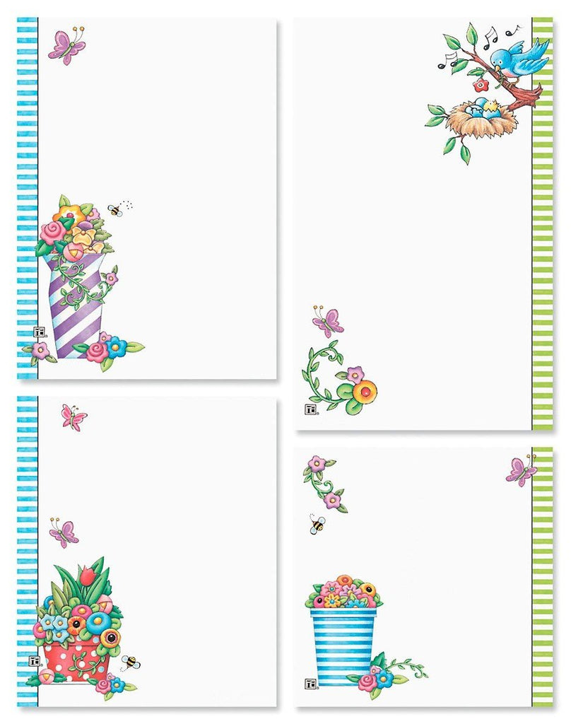 Spring Notepad Set