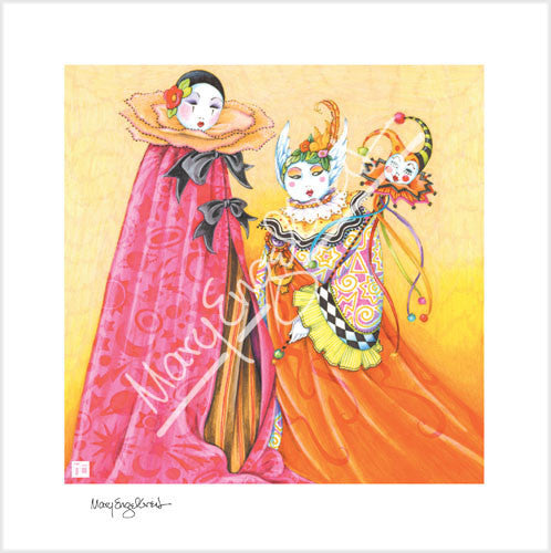Mardi Gras Limited Edition Print