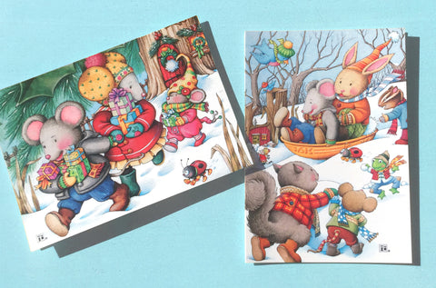 A Merry Little Christmas Boxed Cards