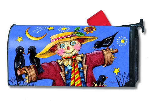 Moonlight Scarecrow Mailbox Cover