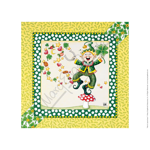 March Leprechaun Fine Art Print