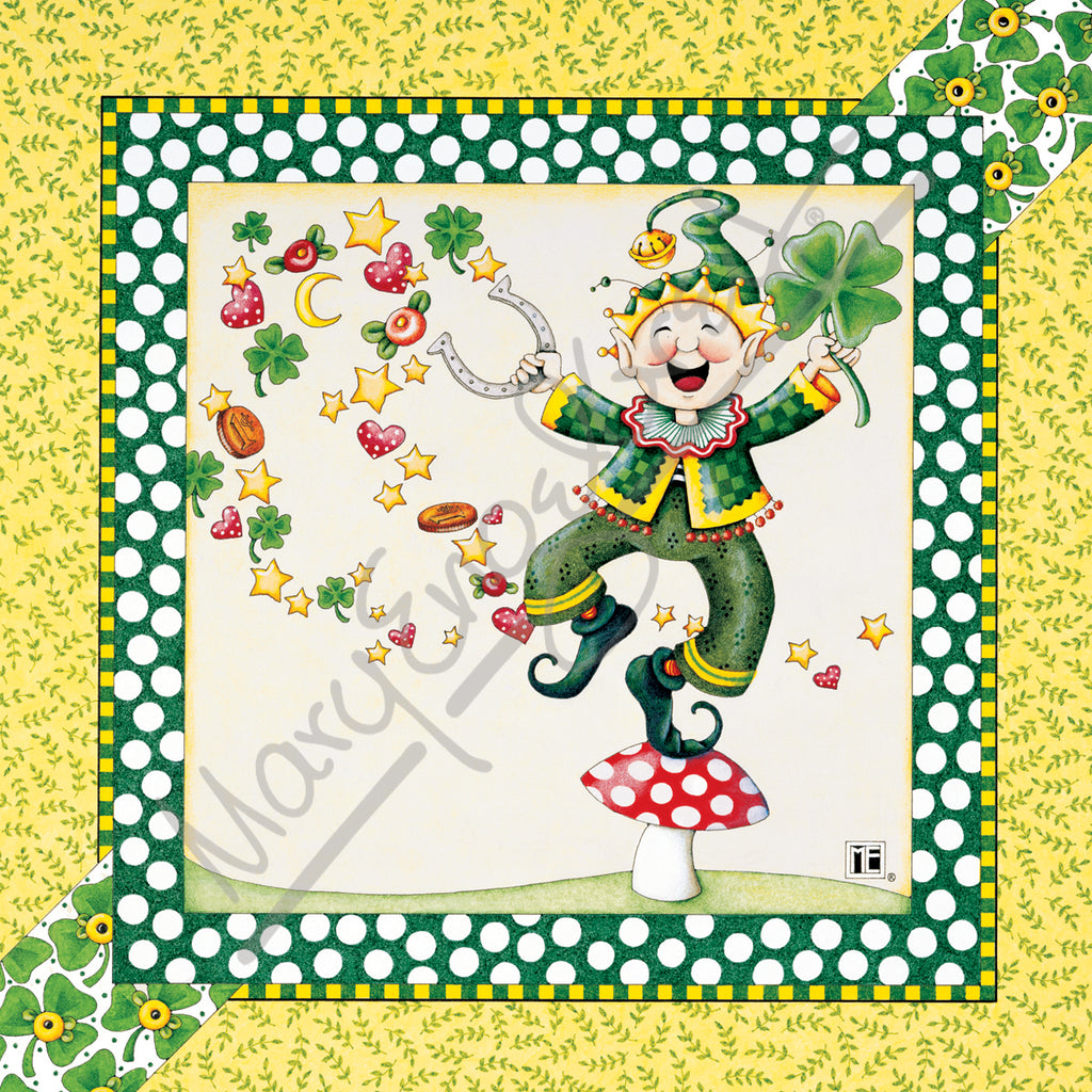 March Leprechaun Magnet