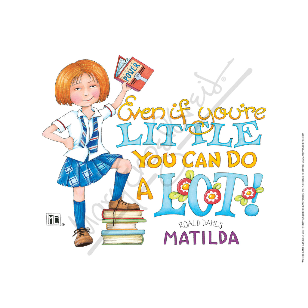 Matilda Little Can Do A Lot Fine Print