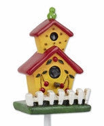 Mini Yellow Cherry Birdhouse