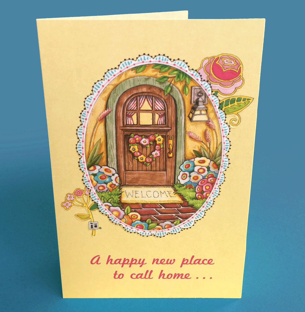 New Home Greeting Card Mary Engelbreit