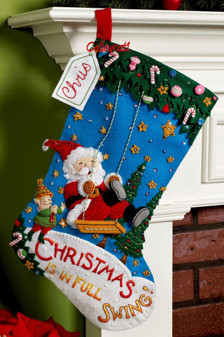 Christmas Swing Stocking Kit