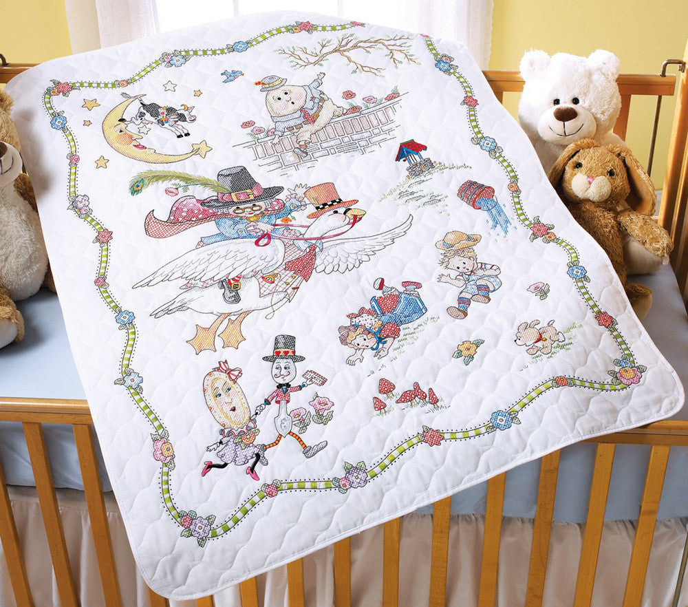 Mother Goose Crib Cover Kit