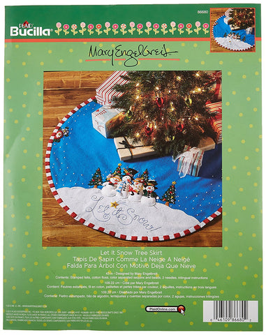 Let is Snow Tree Skirt Kit
