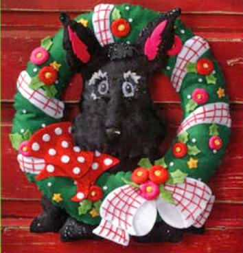 Scottie Wreath