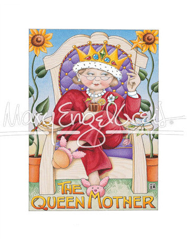 Queen Mother Fine Print