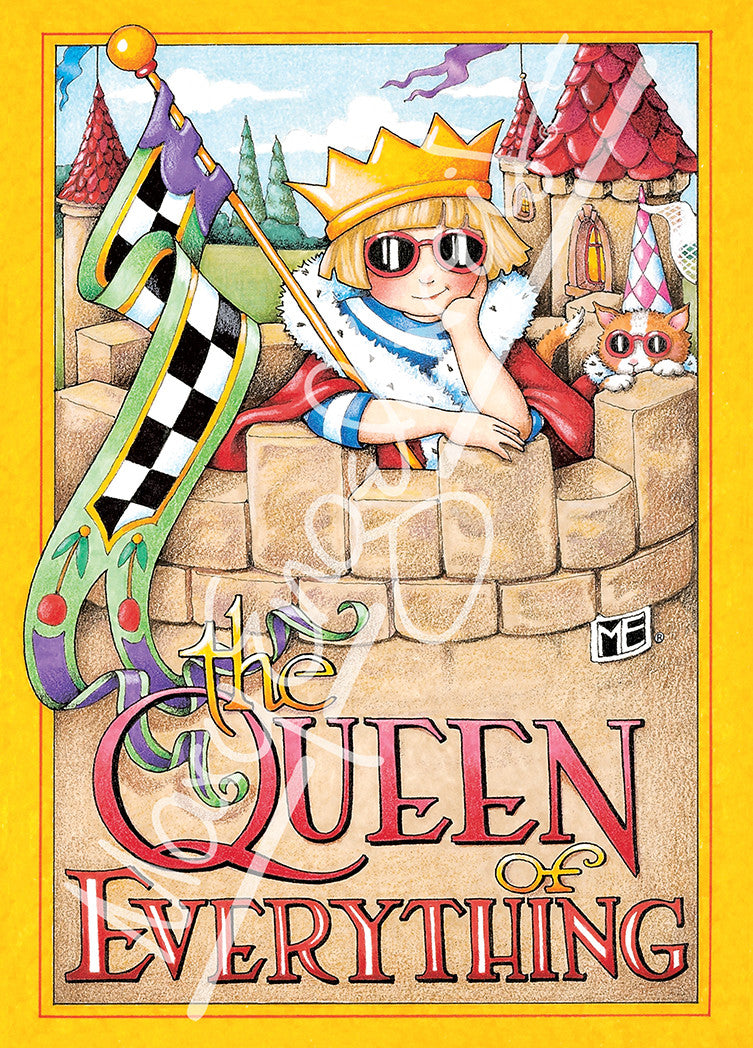 Queen of everything greeting card mary engelbreit queen of everything greeting card bookmarktalkfo Image collections