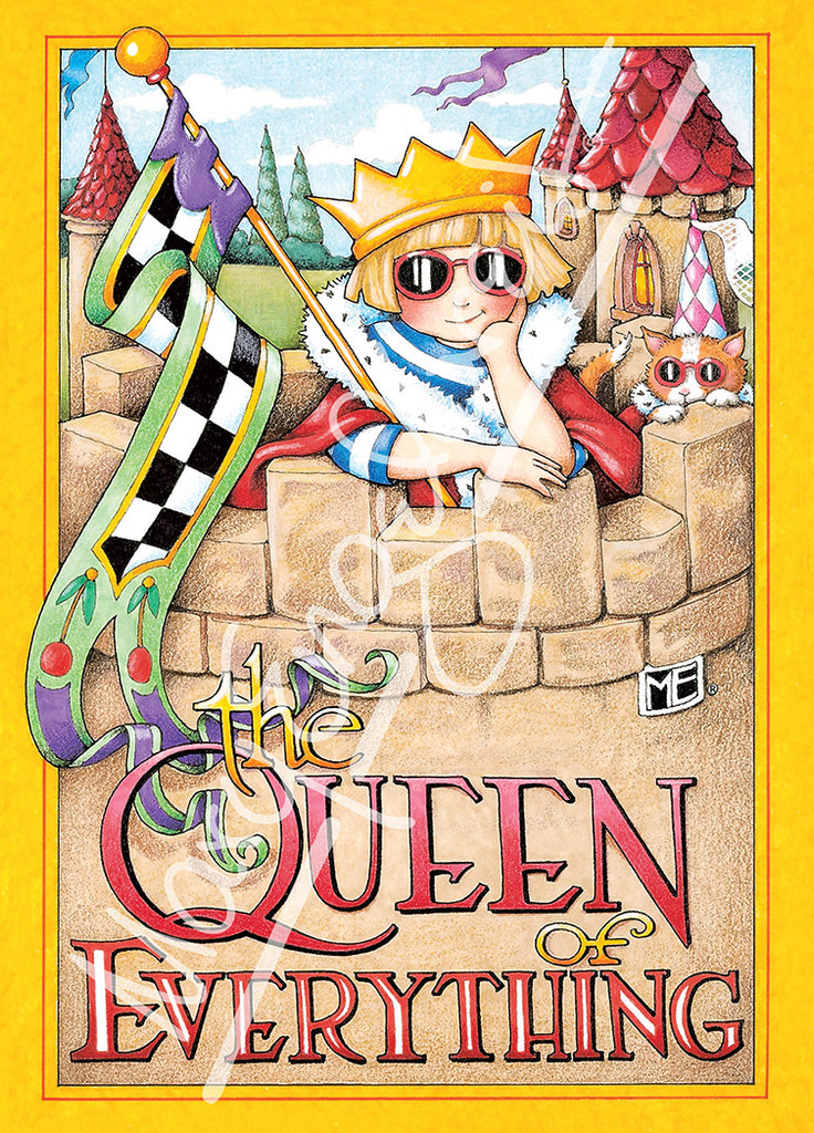 Queen of Everything Greeting Card - Mary Engelbreit