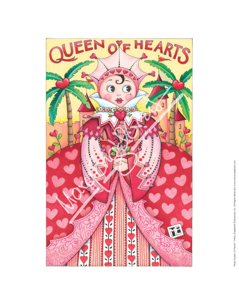 Royal Queen of Hearts Fine Print
