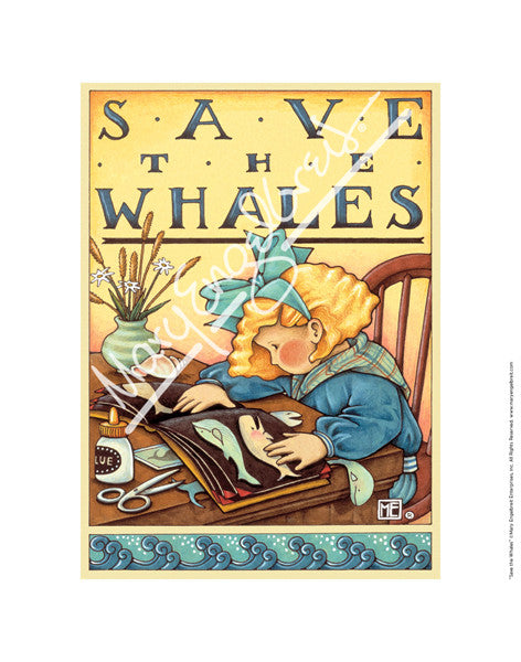 Save the Whales Fine Print