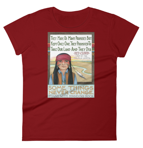 """Standing Rock"" Women's T-shirt"