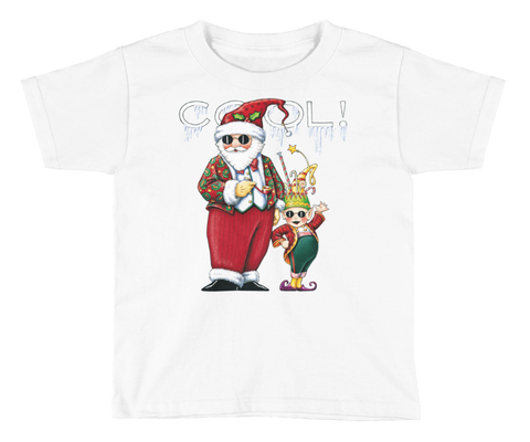 """Christmas Dudes"" Little Kids T-Shirt"