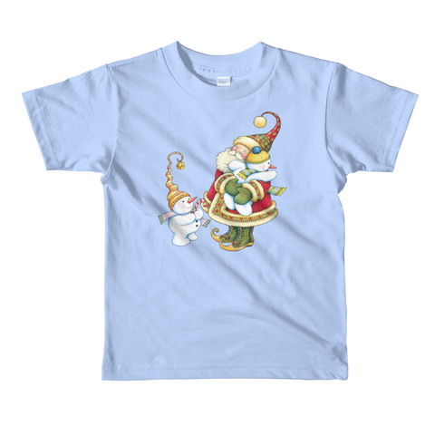 """Holiday Hug"" Little Kids T-Shirt"