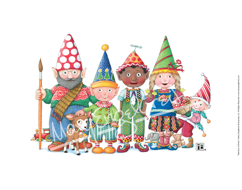 Selection of Elves Fine Art Print