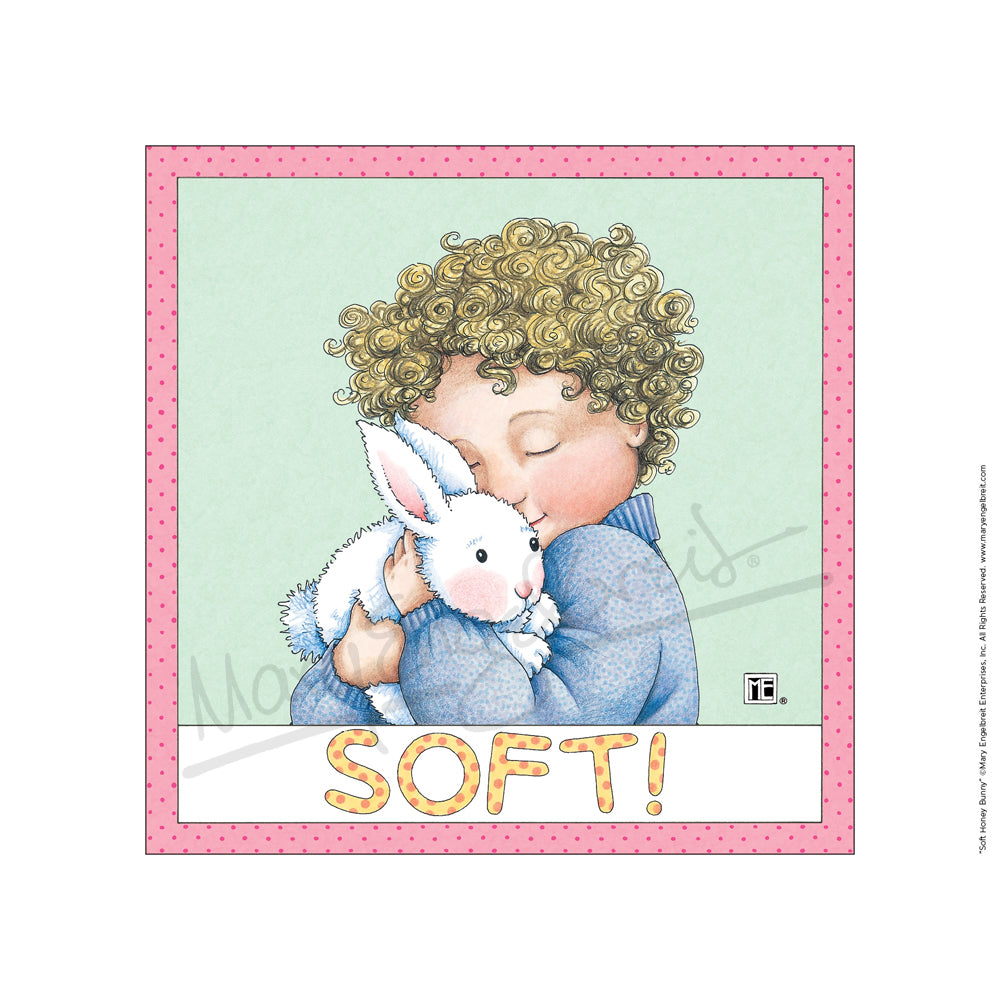 Soft Honey Bunny Fine Art Print