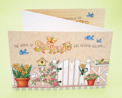 Signs of Spring Easter Card