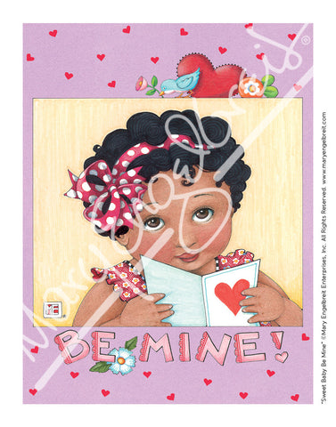 Sweet Baby Be Mine Mini Print