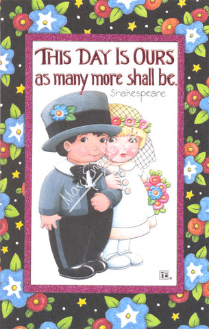 This Day is Ours Wedding Card