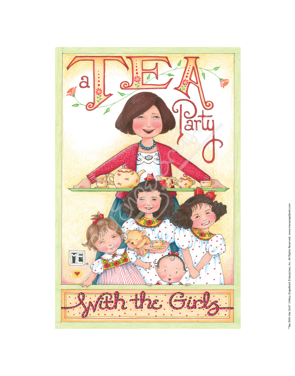 Tea With the Girls Fine Print