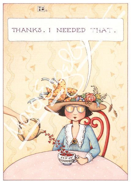 Thanks i needed that greeting card mary engelbreit thanks i needed that greeting card m4hsunfo