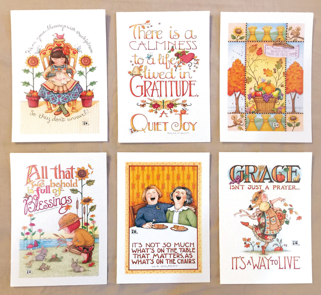 Autumn Postcards