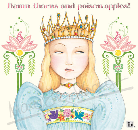 Thorns & Poison Apples Magnet