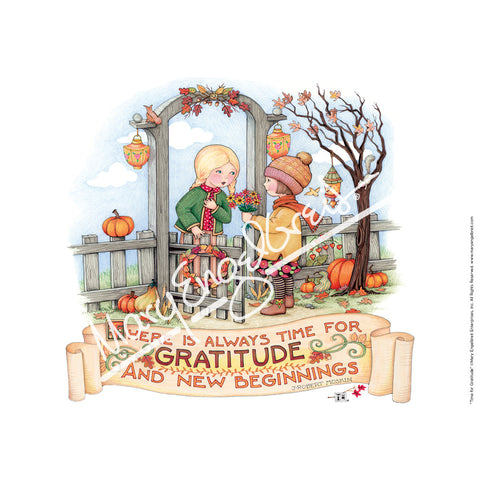 Time for Gratitude Fine Art Print