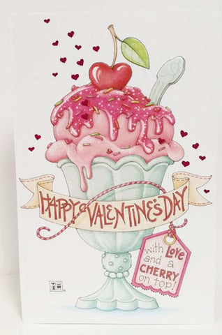Cherry on Top Valentine's Day Card