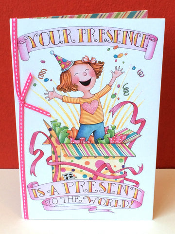 Your Presence Birthday Card