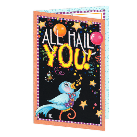 All Hail You! Graduation Card