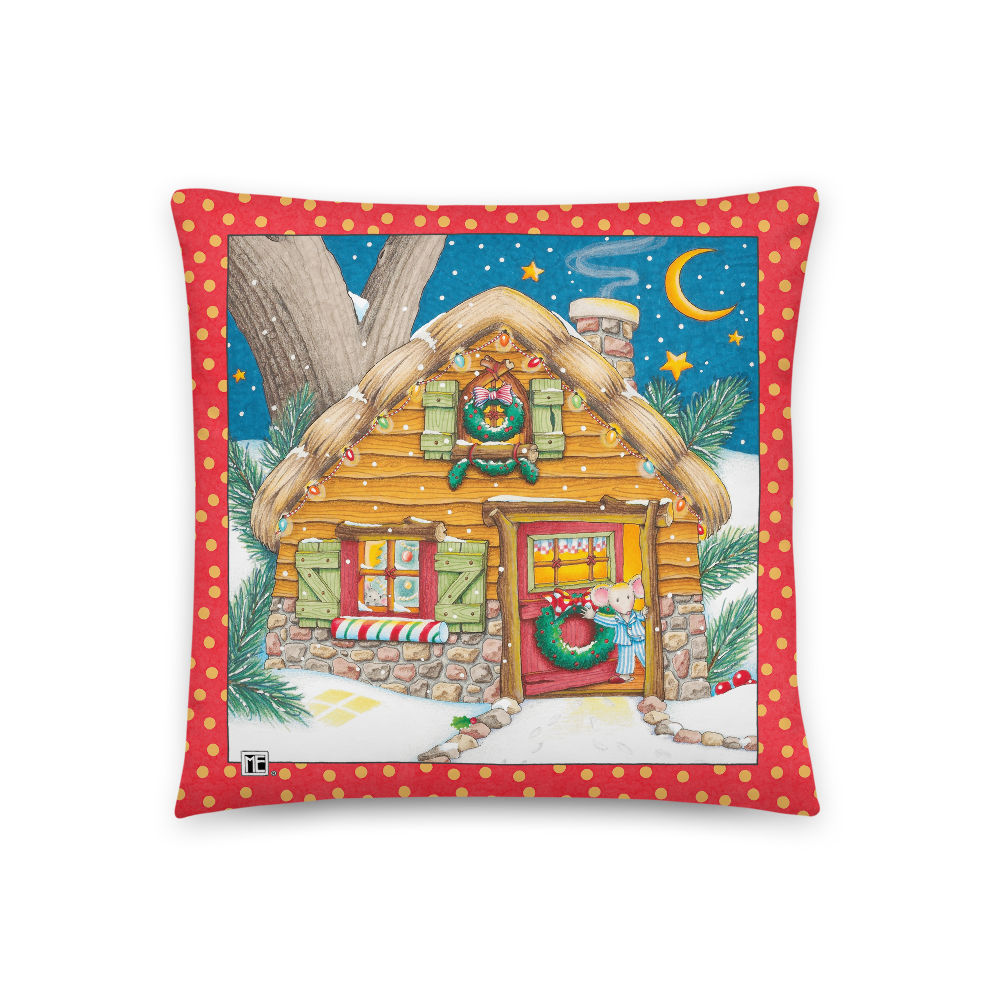 """A Merry Little Christmas"" Pillow"
