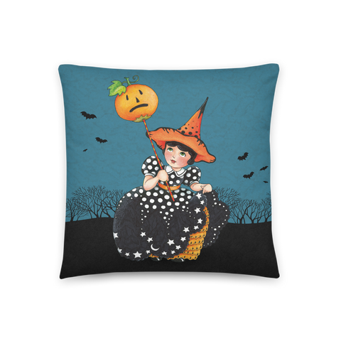 """Light Up Halloween"" Pillow"