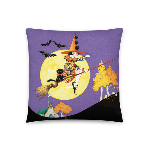 """Halloween Hijinks"" Pillow"