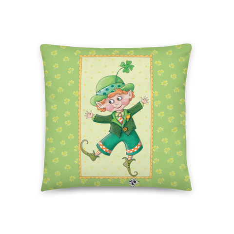 """Little Leprechaun"" Pillow"
