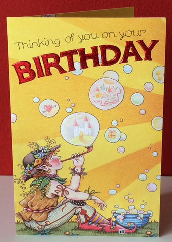 Thinking of You Birthday Card