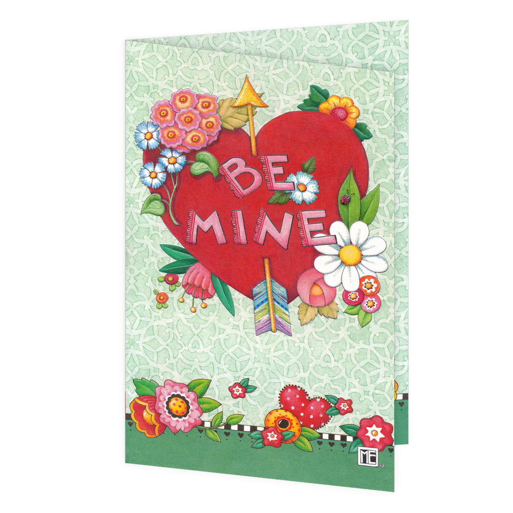 Be Mine Valentine's Day Greeting Card